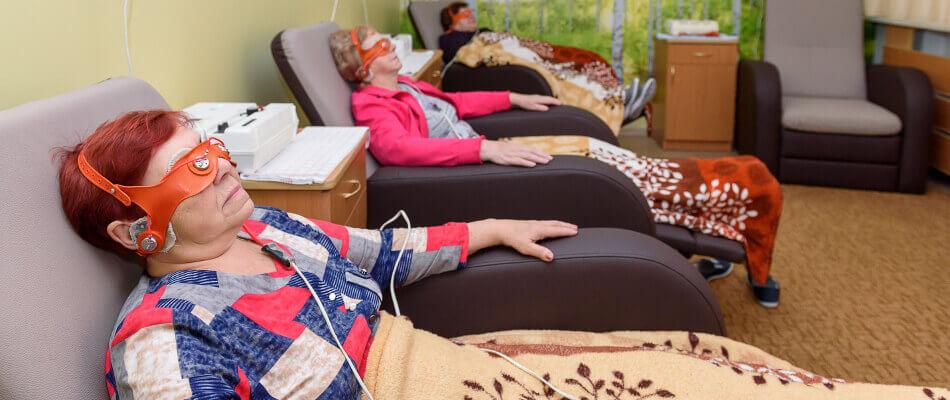 Электросон в санатории Лесные озера