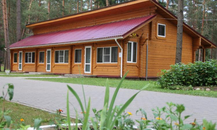 2-х местный номер в коттедже санатория Лесные озера