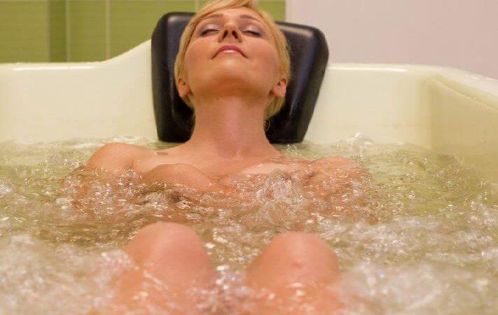 Жемчужная ванна в санатории Лесные озера