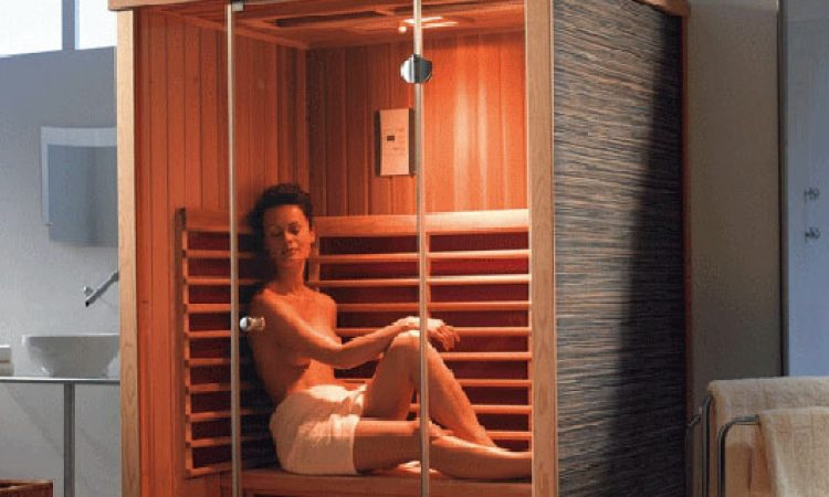 Инфракрасная сауна (кабина) для похудения