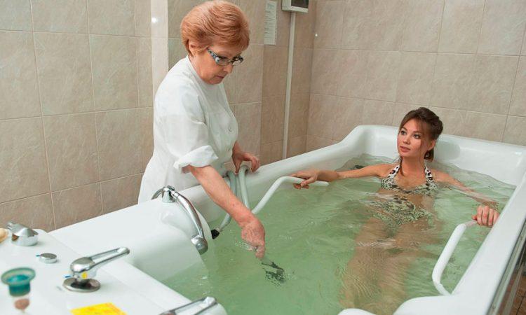 Ванна скипидарная в санатории Лесные озера