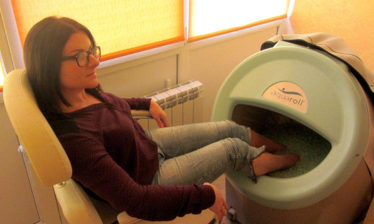 Аппарат AQUAROLL PRO для гидромассажа рук и ног