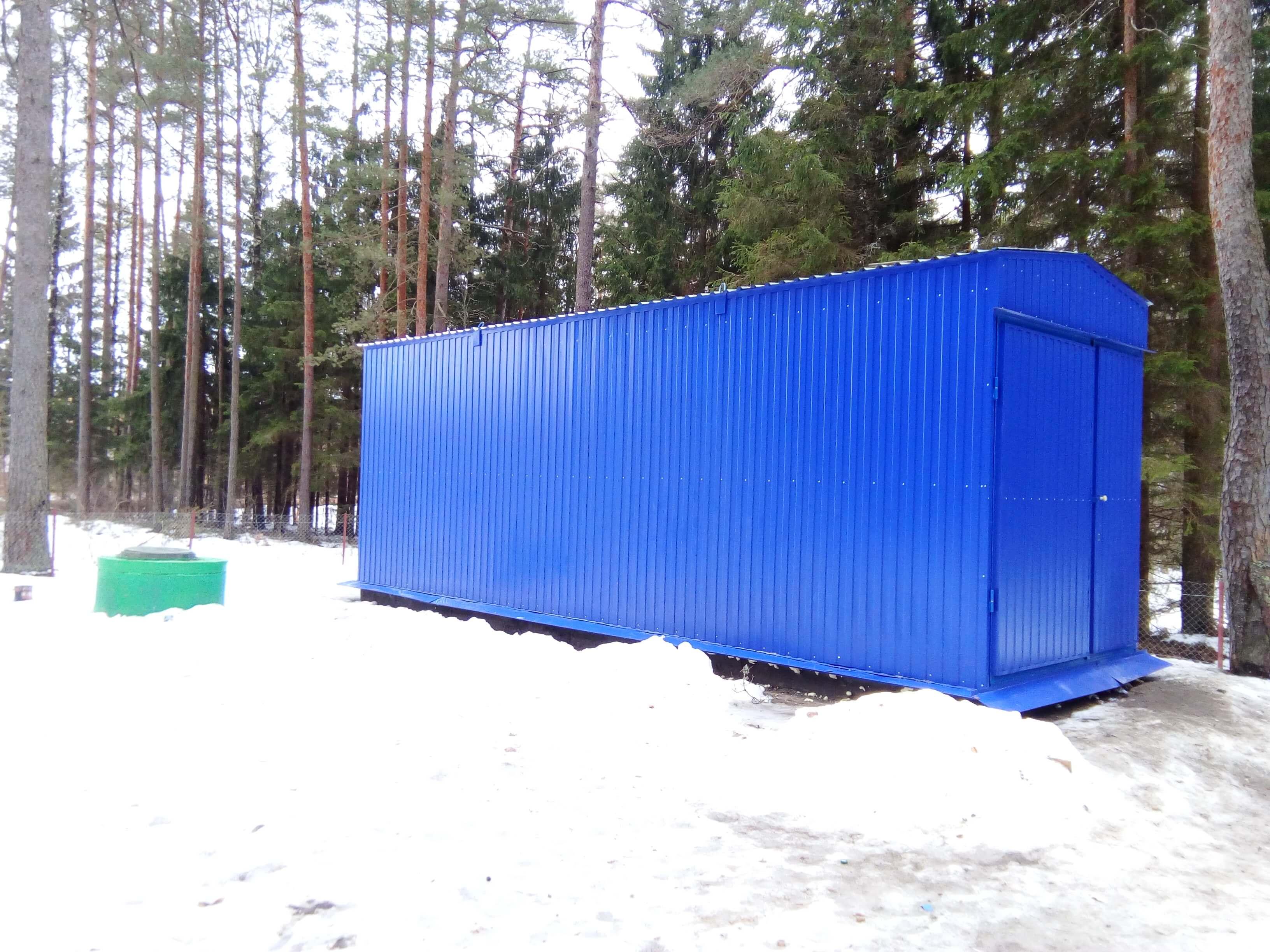 комплекс водоподготовительного оборудования. санаторий Лесные озера
