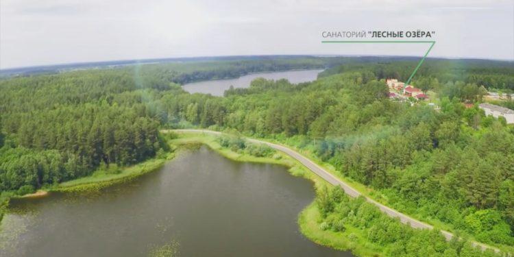 природа санатория Лесные озера
