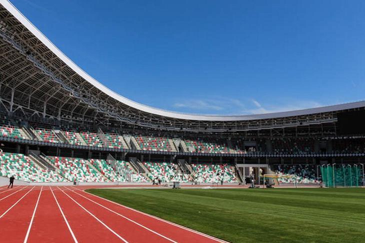 Легкоатлетический матч Европа — США на Национальном олимпийском стадионе «Динамо»