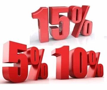 Скидки до 20 % процентов для постоянных гостей!