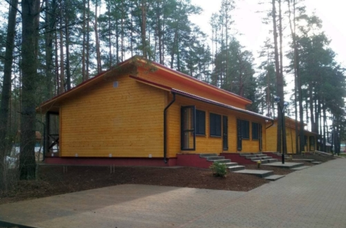 новые домики Санаторий Лесные озера